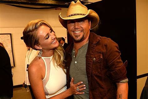 See Jason Aldean and Brittany Kerr's First Wedding Photo