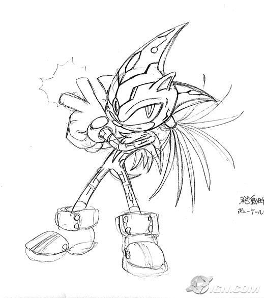 Sonic riders zero gravity coloring pages ~ Sonic Best > Protótipos > Sonic the hedgehog