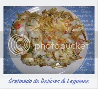 Gratinado de Delícias & Legumes 1