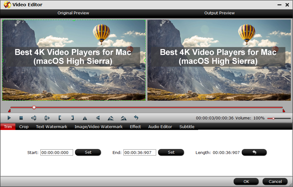 how to change all 4k footage to 1080p converter