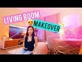 DIY BAR IN LIVING ROOM