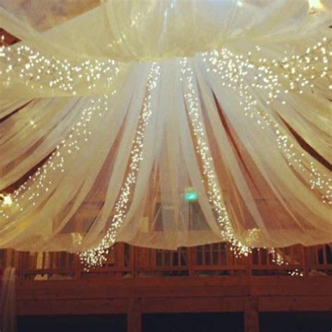 DIY Decor For Over Dance Floor   Weddingbee Photo Gallery