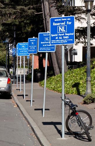 Nobel Laureate Parking