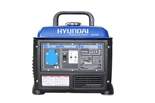Hyundai hg1600i generatore di corrente inverter 1200 w for Generatore di corrente lidl