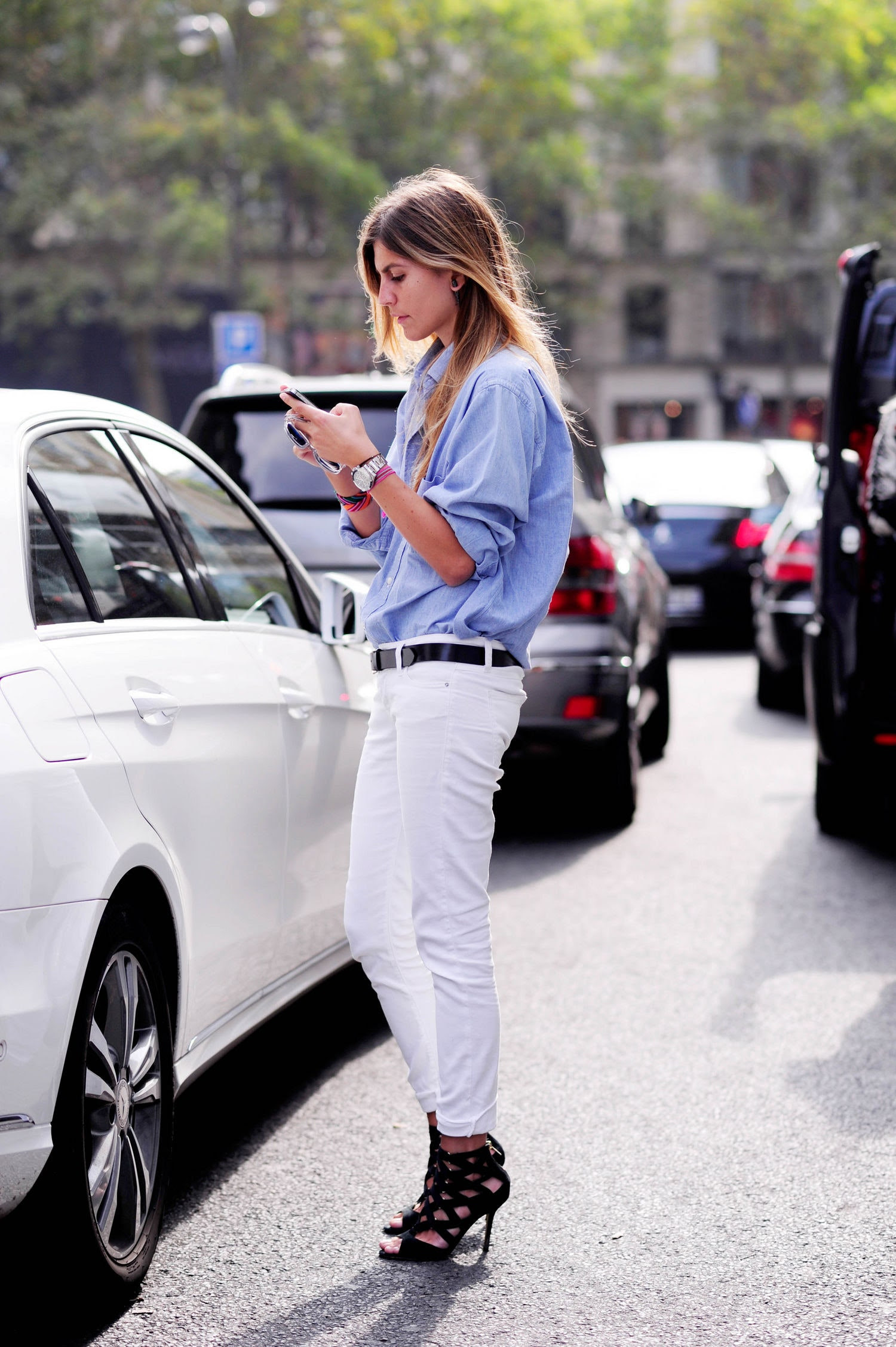 outfits with white jeans  glamour