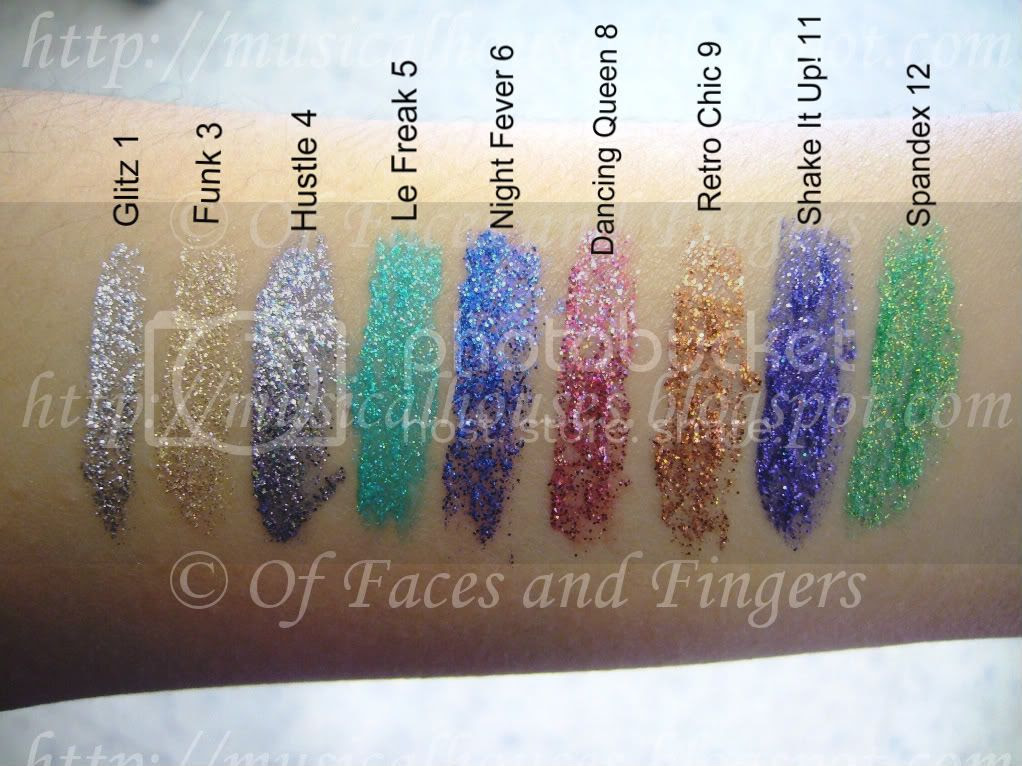 Collection 2000 Glam Crystals Dazzling Gel Liner