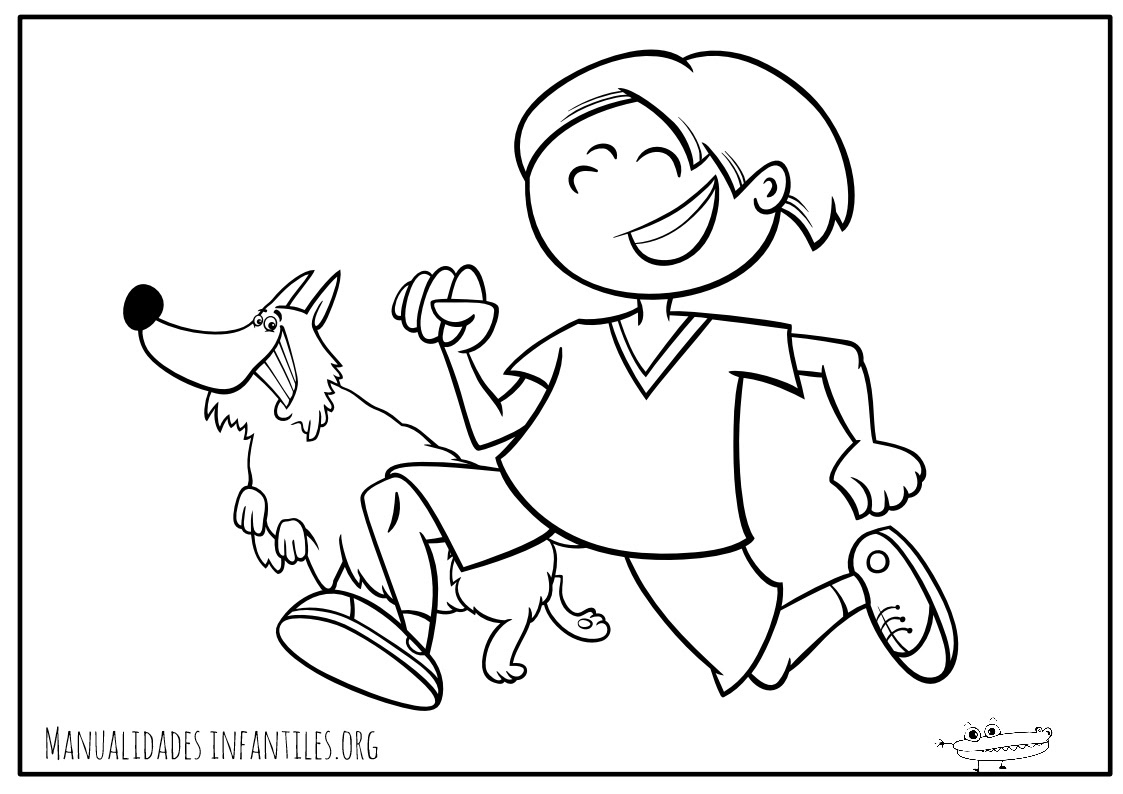 Dibujos De Perros Para Colorear Actividades Para Ninos