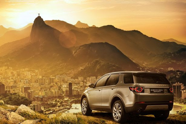 The Discovery Sport overlooking Rio de Janeiro where JLR are building a new £186m manufacturing facility