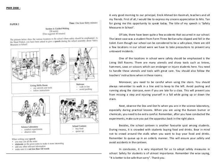Contoh essay bahasa inggeris pt3