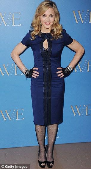 Ladylike: Madonna em 2012