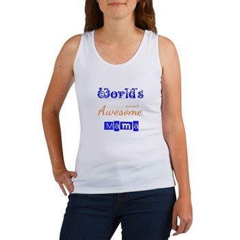 World's Awesome Mama Women's Tank Top