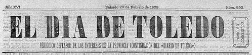 Portada El día de Toledo
