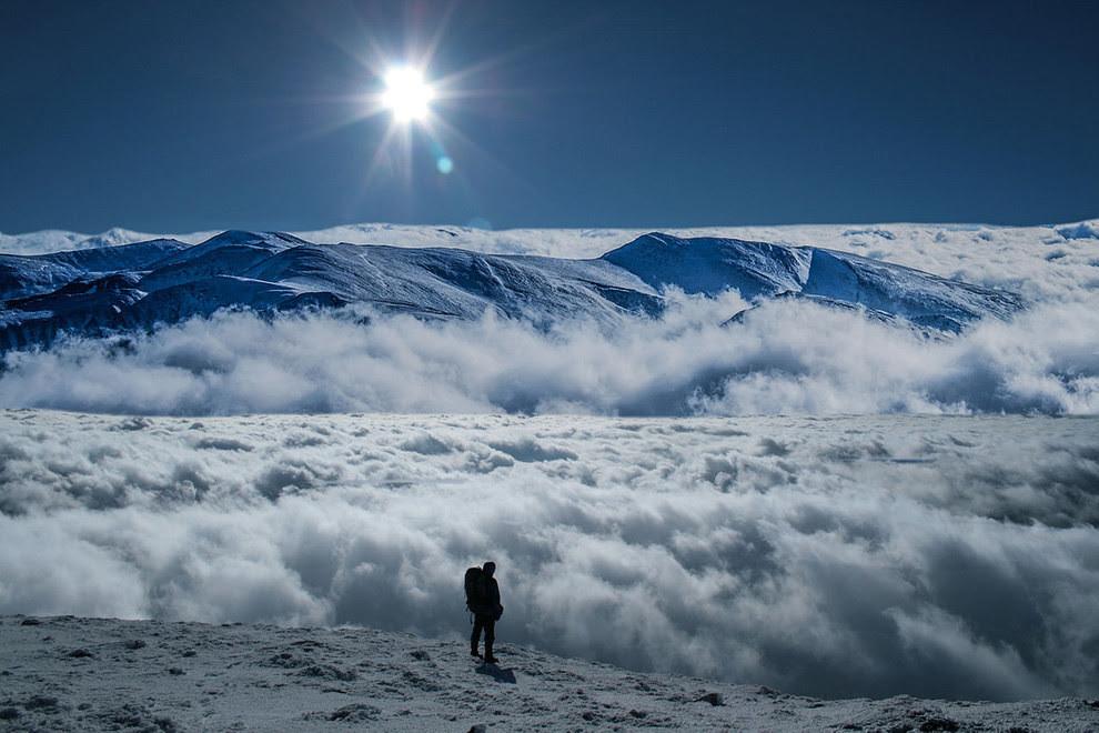 5. Сюрреалистичные горные пейзажи красота, украина