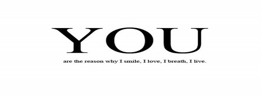 Breath Hate I Love U More Life Love Quote Reason Facebook Covers