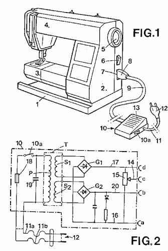 Coches manuales: Pedal de maquina de coser singer