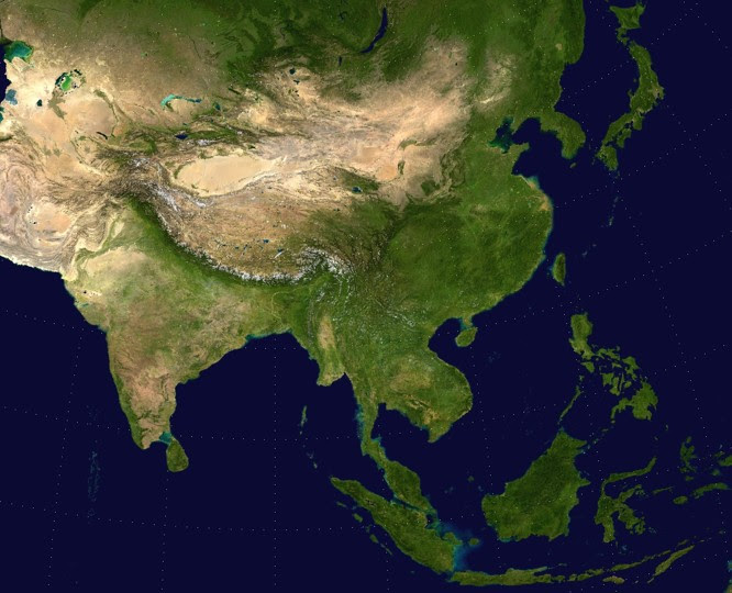 Maps Of Asia Tsiosophy Com
