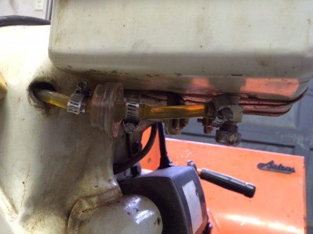 ariens snowblower fuel filter location image 2