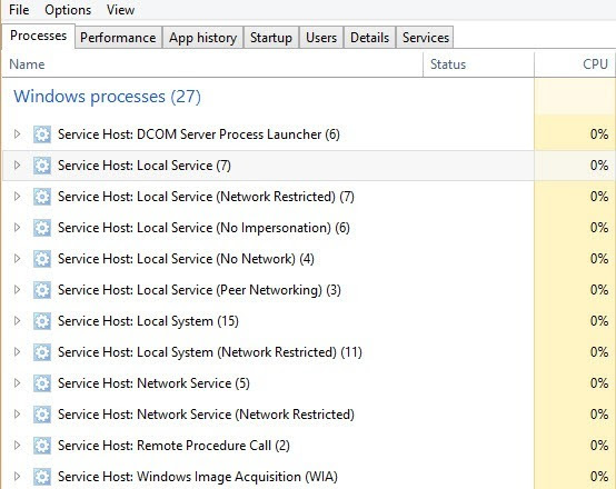 windows 8 processes