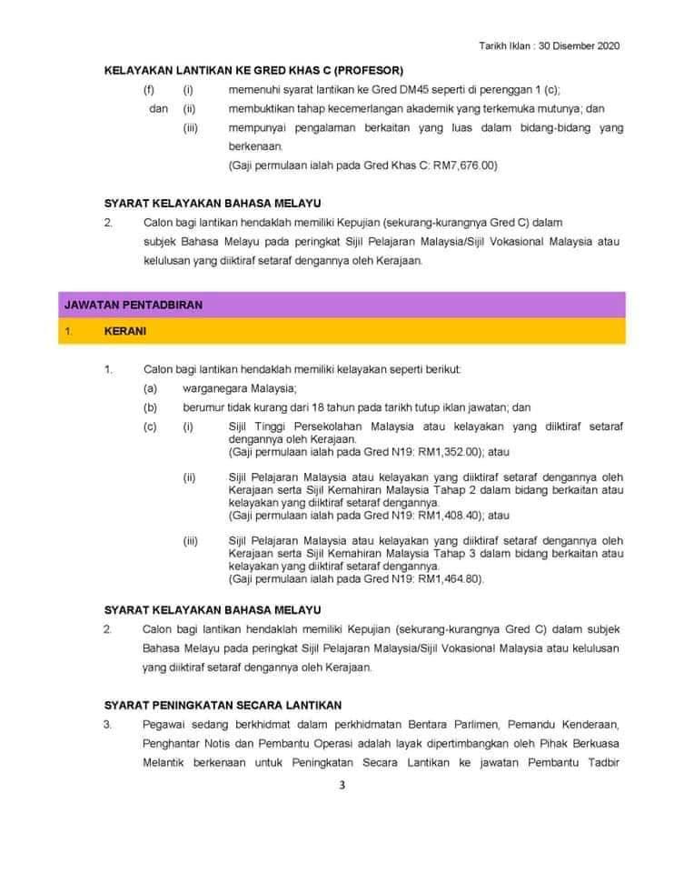 Iklan Jawatan Kosong UiTM Kedah • Portal Kerja Kosong Graduan