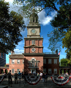 HDR Image of Independence Hall, Philadelphia, PA