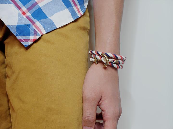 Kiel James Patrick - Anchor Bracelets