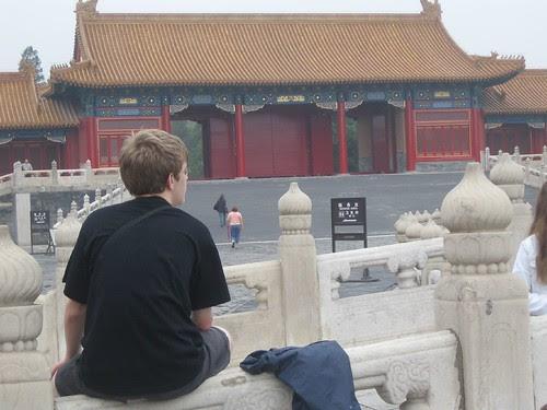 TigerHawk Teenager, contemplating the Forbidden City