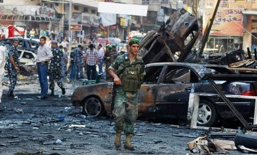 Lebanese soldier at blast site [file]. Photo: REUTERS