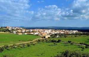 Vista de Rosal de la Frontera. /Foto: www.rosaldelafrontera.org