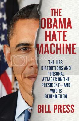Book cover 'The Obama Hate Machine'