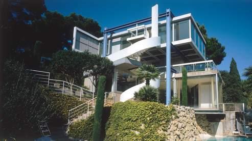 La villa Bloc à Antibes a été construite en 1961 par Claude Parent pour André Bloc. (Dominique Delaunay)