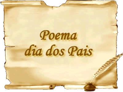 lindos poemas para o dia dos pais