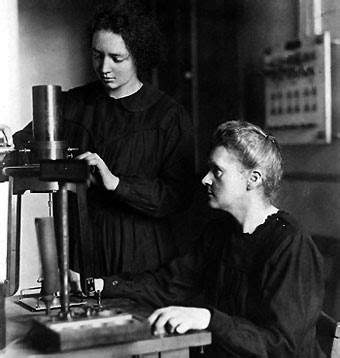 biographies of marie and pierre curie chemists Her daughter, irène joliot-curie, followed in her footsteps, receiving the nobel prize in chemistry in 1935 in 1995, the remains of marie and pierre curie were placed in the panthéon in paris, which is known as the final resting place of france's most distinguished citizens marie curie was the first and only woman to be.