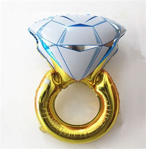 Engagement Ring Balloon   The Hen Planner