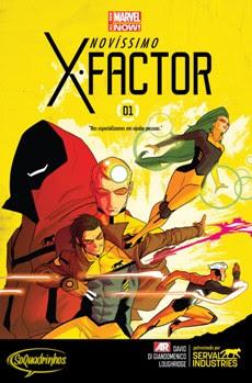 Os novos x-factor 1 a 7
