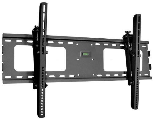 Black Adjustable Tilt Tilting Wall Mount Bracket For