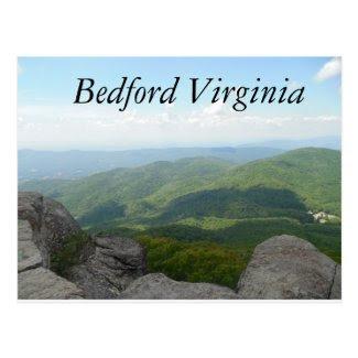 Bedford VA Postcard