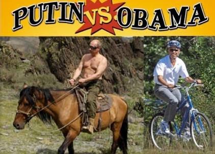 Putin Vs. Obama