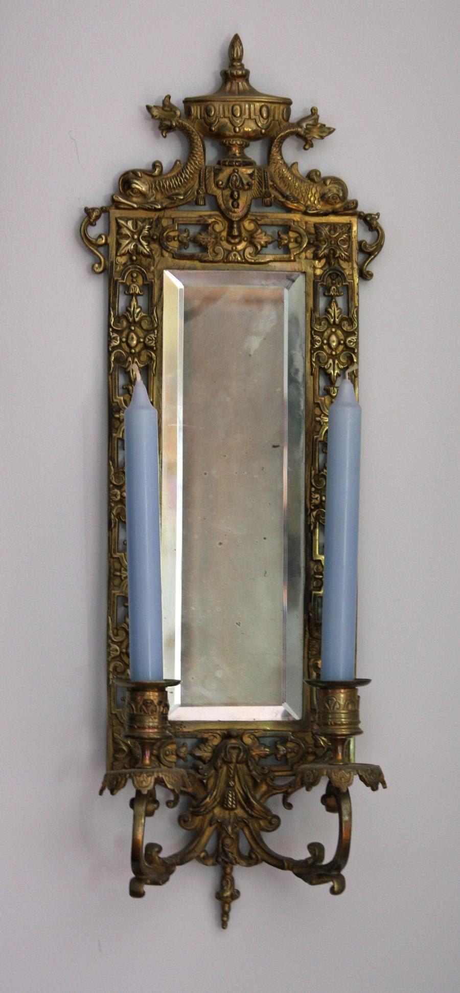 Wall Mirror Candle Holder by Pandora-Effekt on DeviantArt