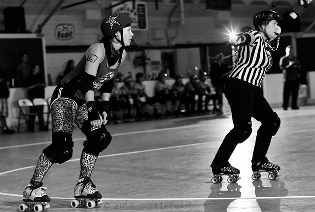 lead jammer with lightning bolts!