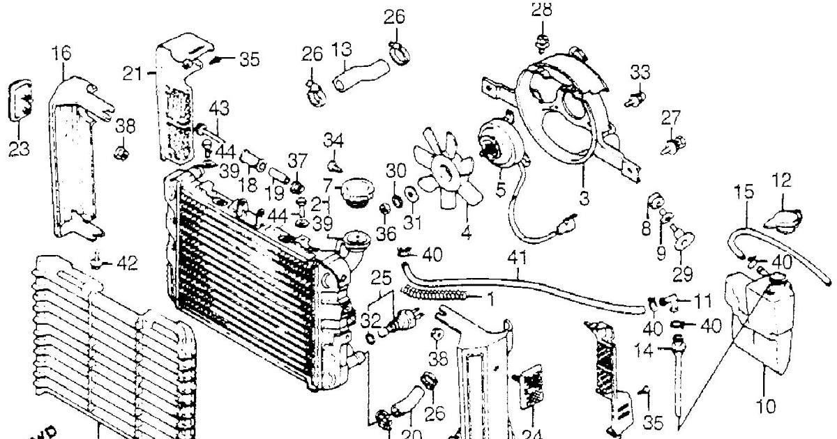 2002 Ford Explorer Radiator Diagram