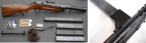 MP28/II e seus carregadores de 20 e 30 tiros
