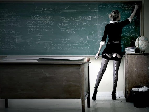 Professora bonita