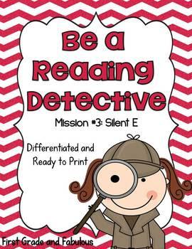 http://www.teacherspayteachers.com/Product/Be-A-Reading-Detective-Mission-3-Silent-E-1036105