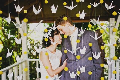 Details We Love ~ Paper Cranes