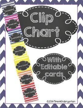 clip chart time4kindergarten
