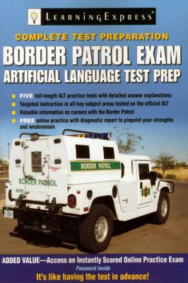 Border Patrol Exam Artificial Language Test Prep