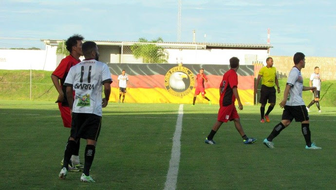 RN - Globo FC e Atlético Potengi empate 1 a 1 Estádio Barretão Ceará-Mirim (Foto: Rhuan Carlos/Divulgação)