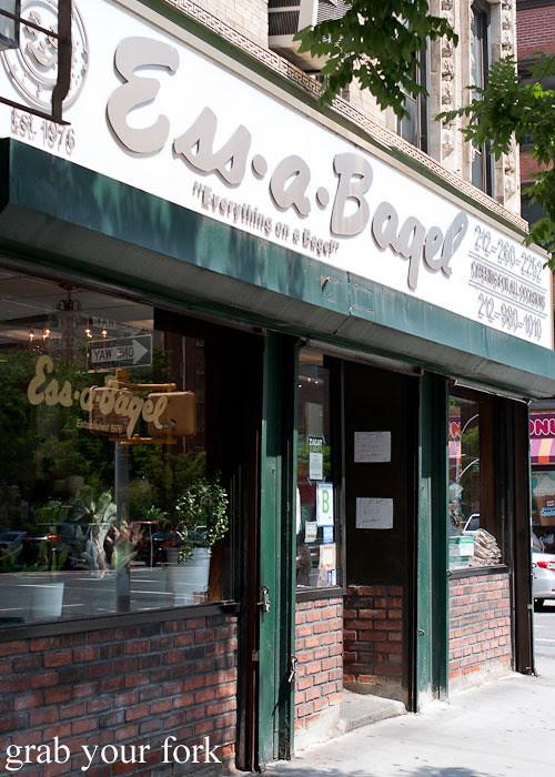 ess-a-bagel nyc new york usa jewish food bagels