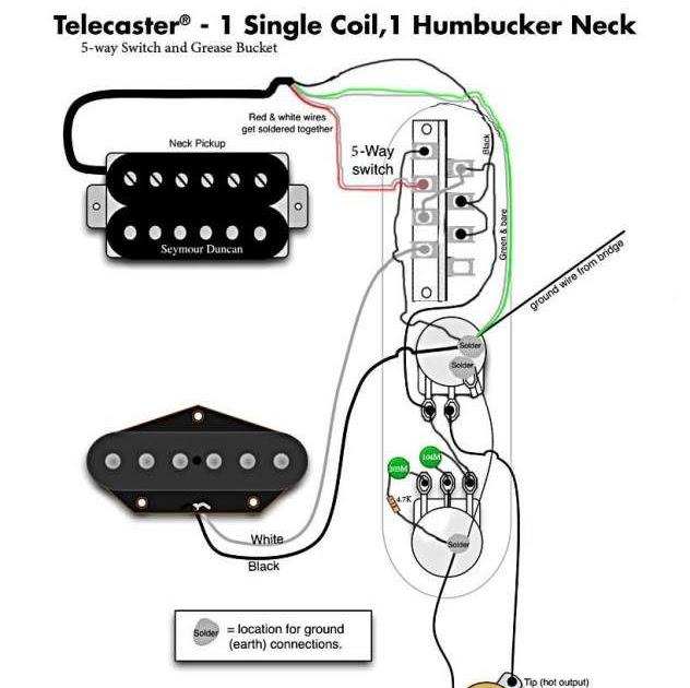 tele wiring diagram 5 way switch    diagram dimarzio pick up telecaster wiring diagram full