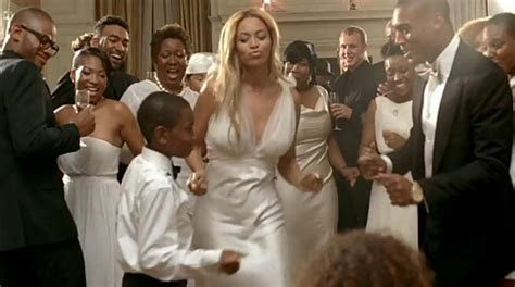 Chasing Rainbows Kissing Frogs: Beyonce's Video Wedding Dress
